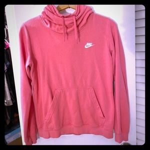 Nike Cowl Neck Hooded Sweatshirt